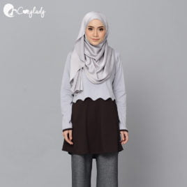 Scallop T – Brown
