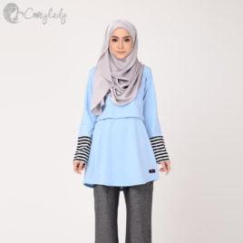 Stripe T – Blue
