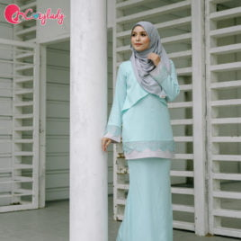 AS-IS : Lacey Kurung Mint (Size XXL)