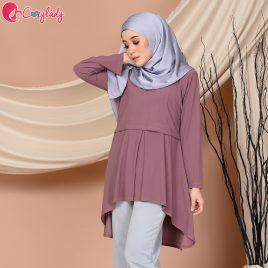 Fishtail Plain – Mauve