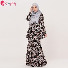 Prolactina Kurung – Black