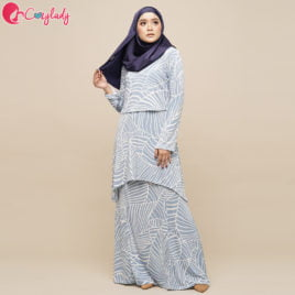 Estran Kurung Venation – Blue